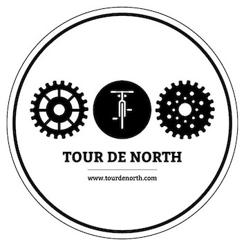 Tour de North Sticker