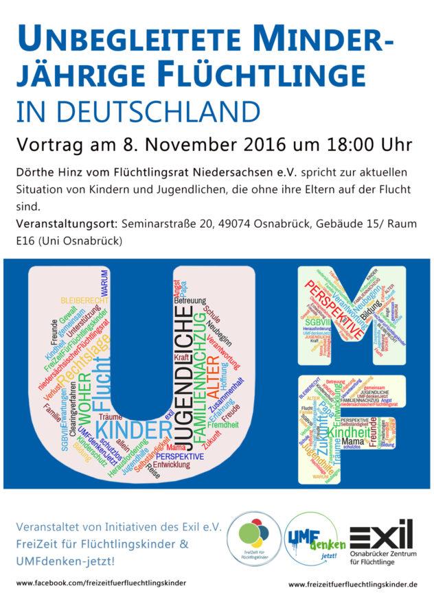 Flyer UMF-Vortrag am 08.11.2016